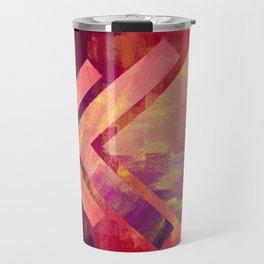 Big Bold Hex   Minimalist   Abstract   Modern   Shapes   Geometrix Travel Mug