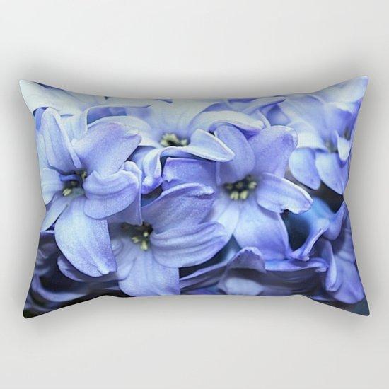 Fragrant Hyacinth Rectangular Pillow