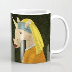 The Unicorn with the Pearl Earring Mug