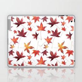 Dead Leaves over White Laptop & iPad Skin