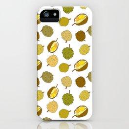Durian Fruit iPhone Case