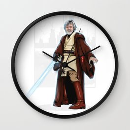 Old jedi  Wall Clock