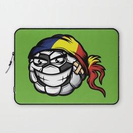 Football - Romania Laptop Sleeve
