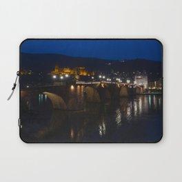 Heidelberg Bridge and Castle by Night Laptop Sleeve