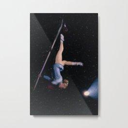 Aerial Acrobat Metal Print