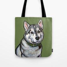 Aspen the Husky Tote Bag