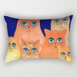 Annapolis Whimsical Cats Rectangular Pillow
