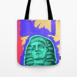 psychedelic four Tote Bag