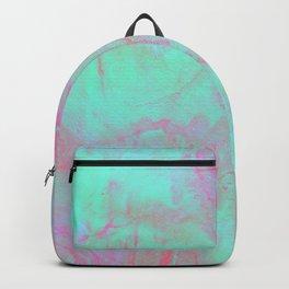 Teal Pink Backpack