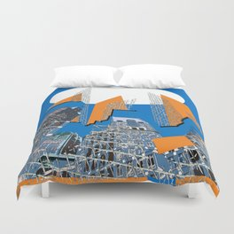 Downtown II Duvet Cover