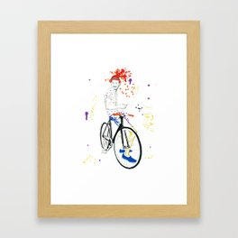 Bicycle Another Life-Cycle Framed Art Print