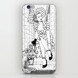 asc 516 - La veuve Romaine (The Roman widow) iPhone Skin