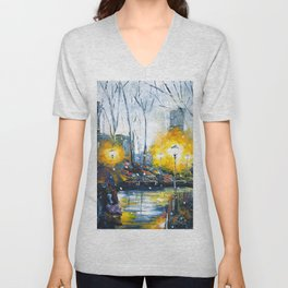 Solstice in the City, vol.1 Unisex V-Neck