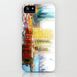 Outside The City iPhone Case