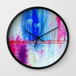 Hidden Hearts Wall Clock