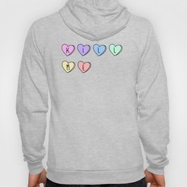 Kill Me Candy Hearts Hoody
