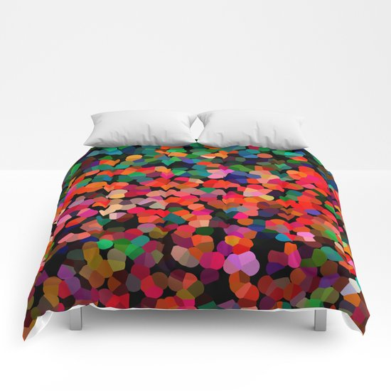 Abstract colors Comforters