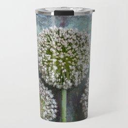 Three Allium Flowers Travel Mug