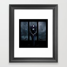 Lady of Crows Framed Art Print