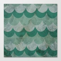 scales Canvas Prints featuring Scales by Jarrah James