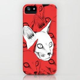 Cursed Cats iPhone Case
