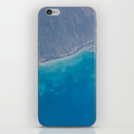 Pacific Ocean, California, Nature, Malibu, Los Angeles, Costline, Satellite, Landscape iPhone Skin