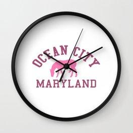 Ocean City - Maryland. Wall Clock