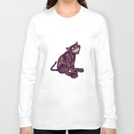 The Cat Grin Long Sleeve T-shirt