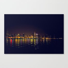 Reflections of a City Canvas Print