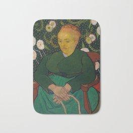 Vincent van Gogh - La Berceuse (Woman Rocking a Cradle; Augustine-Alix Pellicot Roulin, 1851–1930) Bath Mat