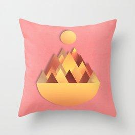 Hot Peaks Alternative Throw Pillow