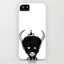 Yvonna the Yak Girl iPhone Case