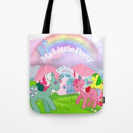 g1 my little pony Tote Bag