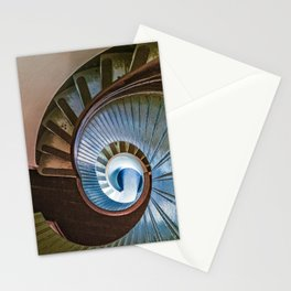 Spiral Staircase in the Old Lighthouse Stationery Cards