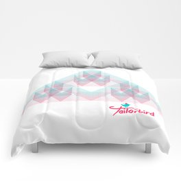 Triangle Trifecta Comforters