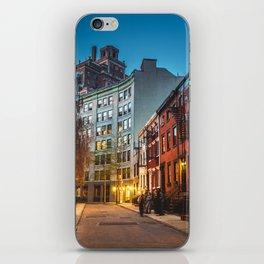 Twilight Hour - West Village, New York City iPhone Skin