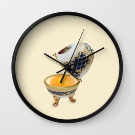 Faberge egg Wall Clock