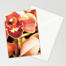 Flaming Orchid Stationery Cards