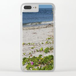 Nothing Incomplete Clear iPhone Case