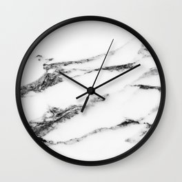Marble (White) Wall Clock