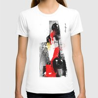 senna T-shirts featuring AYRTON SENNA MP4-4 by Michele Leonello