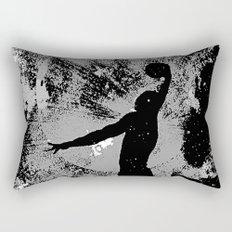 SLAM DUNK IN BLACK AND WHITE Rectangular Pillow
