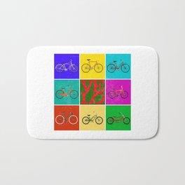 Velo Love – 8 Bikes PoP - June 12th – 200th Birthday of the Bicycle Bath Mat