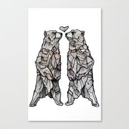 Same Love Canvas Print