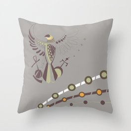 Pharaoh's Symbol Throw Pillow