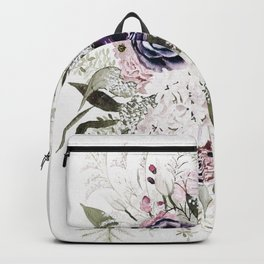 Purple Bouquet Backpack