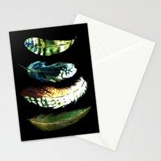 Feathers 2 Stationery Cards