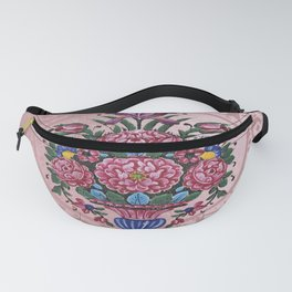 Floral Persian Tile (pinky) Fanny Pack