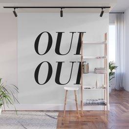 oui oui Wall Mural