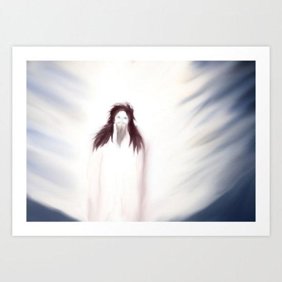 Holy vision 3 Art Print